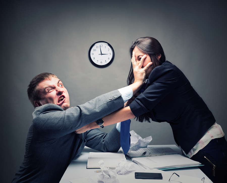 "conflicts in work place Conflict in the workplace by mary rau-foster ""i have better things to do with my time than to baby-sit with a bunch of feuding children,"" complains one manager."