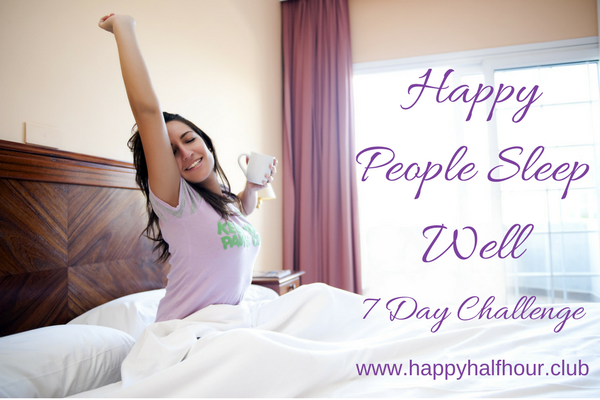 Happy People 7 Day Challenge Page Header